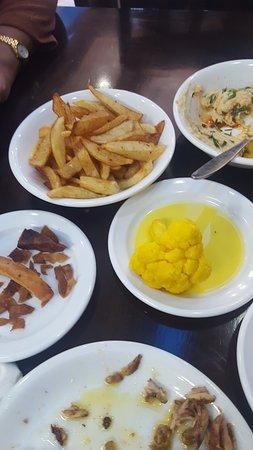 A. Raze: ככה נראה האוכל, מאכזב משהו