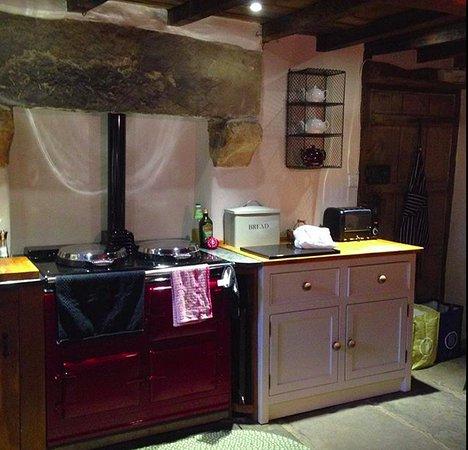 Ravenstonedale, UK: Kitchen