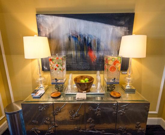 Lobby at the Kimpton Hotel Monaco Salt Lake City