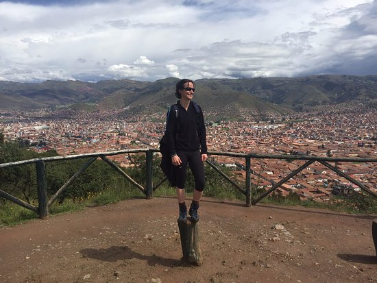 Sacsayhuaman: Beautiful view of Cusco