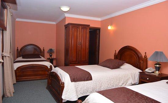 Hotel San Andres: habitacion triple