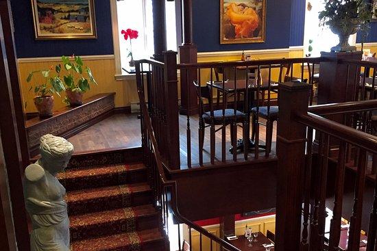 Piazzetta Rimouski: Escalier centrale.