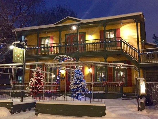 Rimouski, Canada : En hiver.
