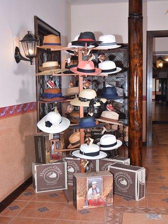 """Hotel San Andres: contamos con sombreros """"HOMERO ORTEGA"""""""