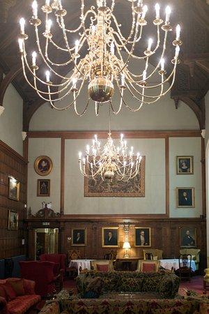 Rushton Hall Hotel and Spa: Main Hall Lounge