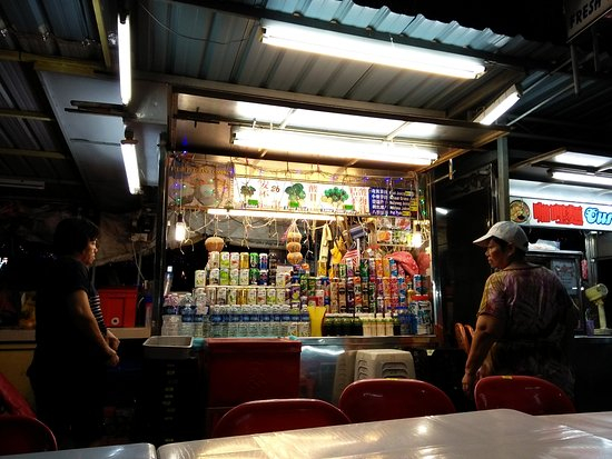 Gurney Drive: Drink stall
