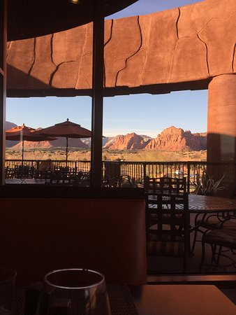 The Inn at Entrada: View from restaurant at Club House