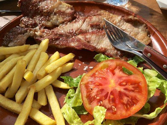 Bar-Restaurante La Escueva: Secredo Iberico