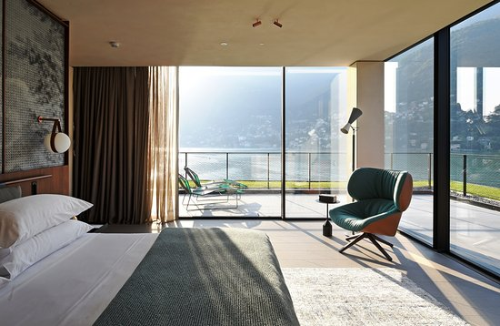 II Sereno Lago di Como: Penthouse Suite 180 Views