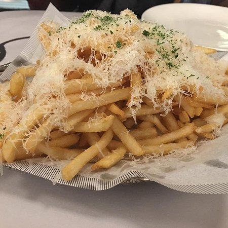 Truffle fries.. really really good! A must try!