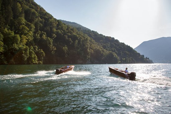 II Sereno Lago di Como: Boating in our own Riva Boats
