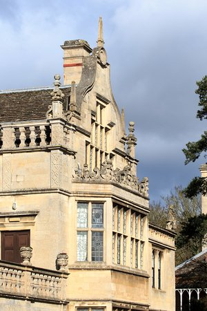 Rushton Hall Hotel and Spa: Front Gable