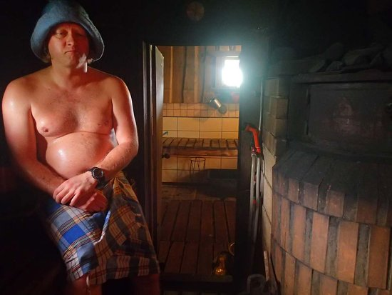 Arido Pirtis: Cozy hot room