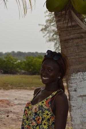 Quinhamel, Guinea-Bissau: la bellezza della laguna e una stella della Guinea