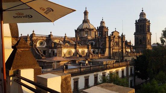 Hostel Mundo Joven Catedral: Private Balcony