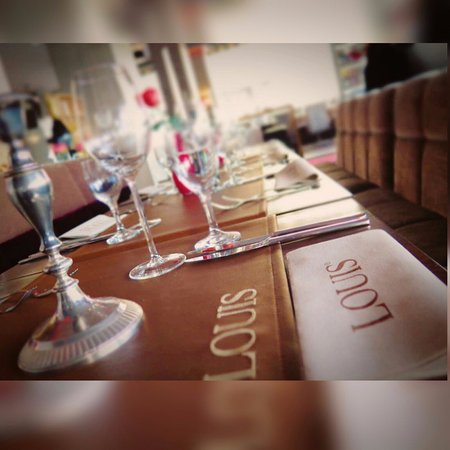 your table is ready - Picture of Louis Restaurant, Nuremberg