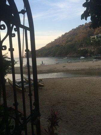 Casa de los Artistas: View from the front gate