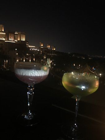 Great view and big variety of very tasty cocktails!