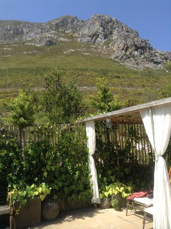 78on5th in Hermanus: view from the pool