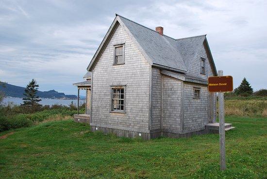Pierced Rock (Rocher-Percé) : Une maison reconstituée à l'identique à Bonaventure