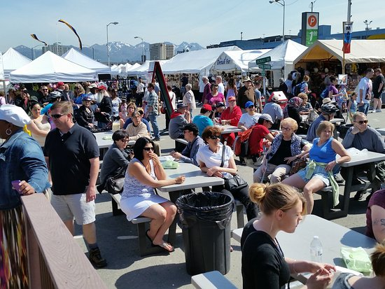 Anchorage Market & Festival: Front Food Court
