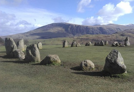 Castlerigg, UK: Standing stones and surrounding views. Truly breathtaking.