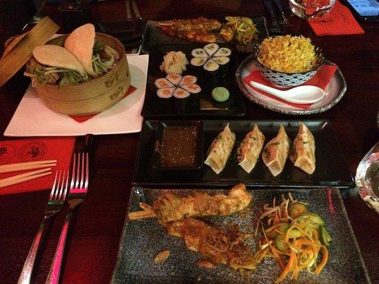 Asian Temple: Il sushi è fantastico