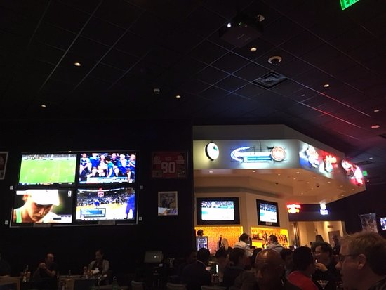 Zone 8 Sports Bar Grill Dining Room