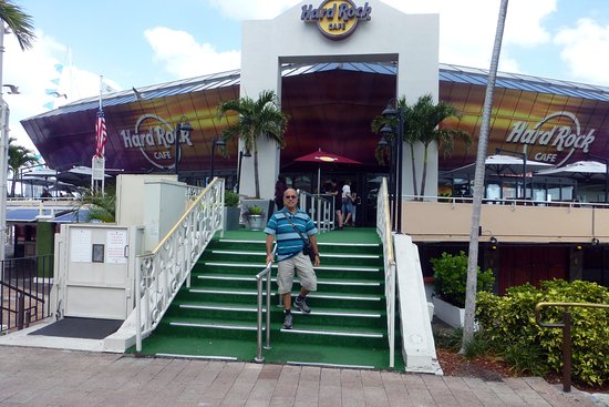 Hard Rock Cafe Bayside Marketplace Miami Beach Usa