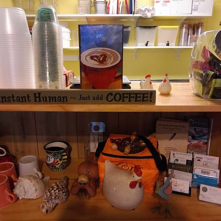 Lori's Cafe : Instant Human - Just Add Coffee