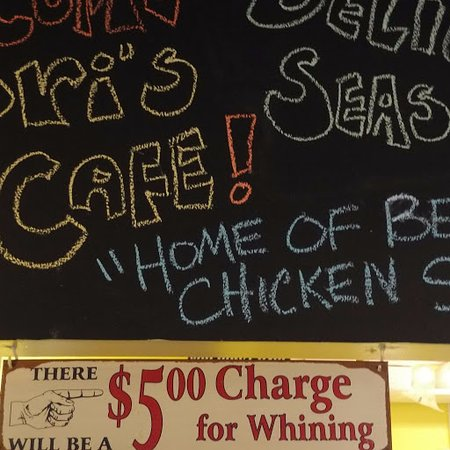 Lori's Cafe : $5 Whining Charge
