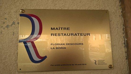 Прива, Франция: label mérité : maître restaurateur