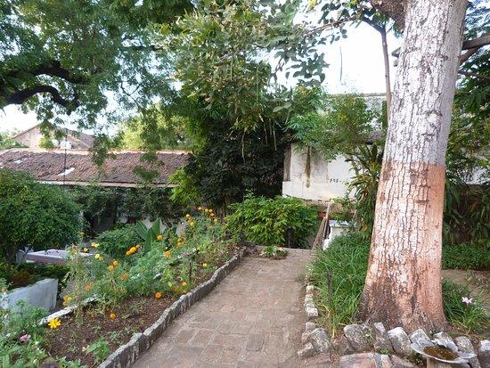 Ahilya Fort: uno dei giardini interni