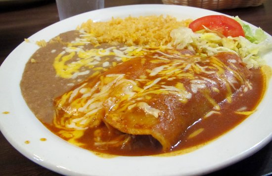 Sanger, Kalifornien: #7Shredded Beef Enchiladas - Velasco's