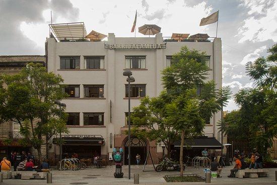 Foto De La Azotea De Barrio Alameda Ciudad De México En El