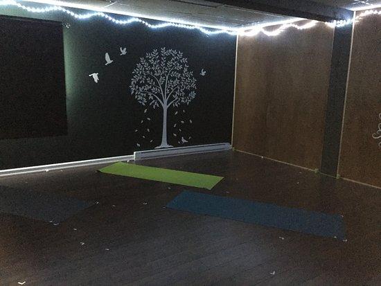 Deep Roots Studio: Inside the Yoga Studio