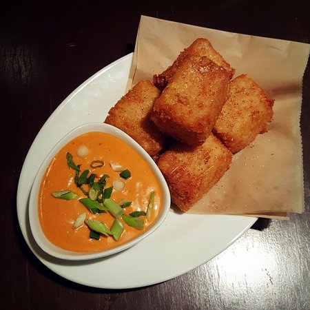 """Bethesda, MD: Old school tater tots with """"awesome sauce."""""""