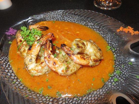 Courtney's Continental Cuisine: Thai Peanut Shrimp