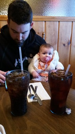 Coupeville, WA: Dinner with Papa and my great grand baby
