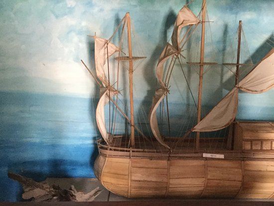 Black Heritage Museum : Pic of type of ship used!! Lower deck for slaves parked like sardines while the abductors dine o