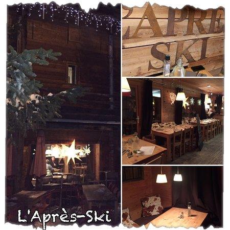 L' Apres Ski : Très bonne découverte de ce resto à Vars,  peut égaler la Cabane par sa qualité et gentillesse.