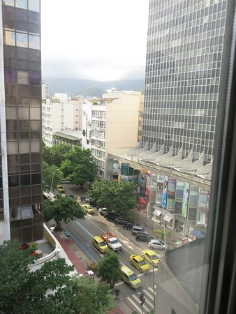 Mar Ipanema Hotel: View from our window