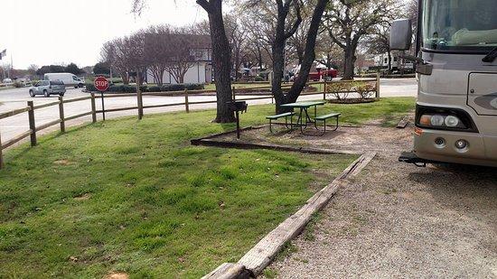 Destiny Dallas RV Resort: Site 9
