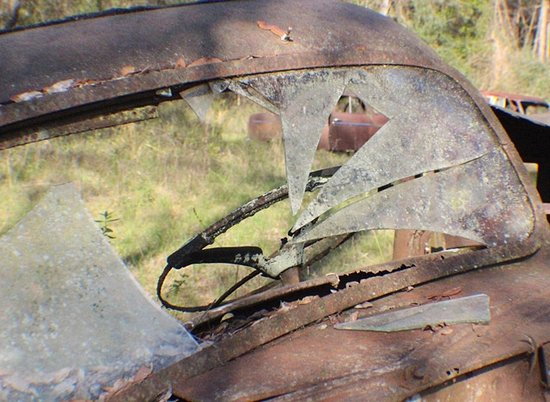 Crawfordville, FL: Rusted Ford Trucks - stories to tell. Behind the wheel