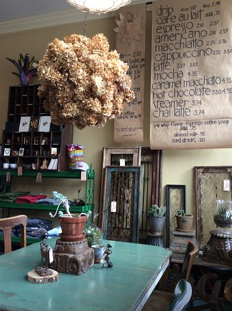 Mount Vernon, IA: The menu board