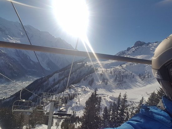 Argentiere, France: Chamoix mont blanc ski resort its amazing challangeing but fab