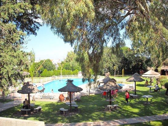 Parque y Sol: Vista desde la abitacion