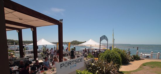 Jervis Bay Wilds Waterfront Cafe located at our private cruise terminal in Huskisson NSW Sth Coa