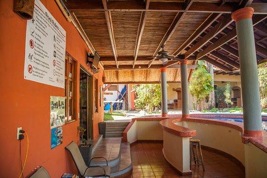 Playa Grande, Costa Rica : Recepcion area - Area de recepcion