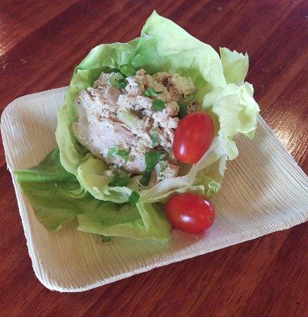 Murphys, CA: chicken salad wrap